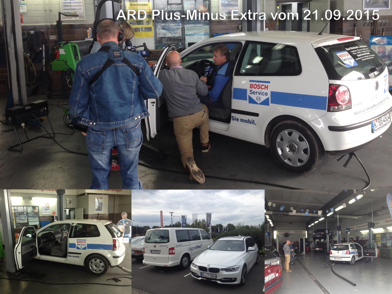 Zwei auf einen Streich - Berichterstattung in ARD und MDR vom 21.09.2015