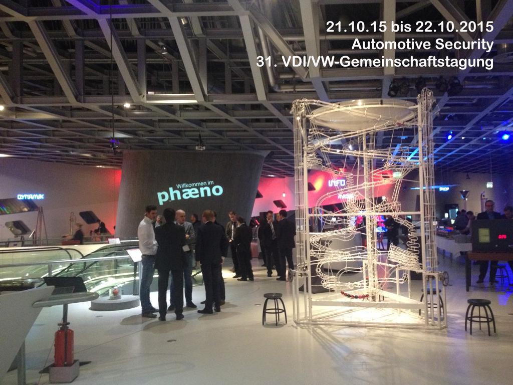 31. VDI/VW-Gemeinschaftstagung