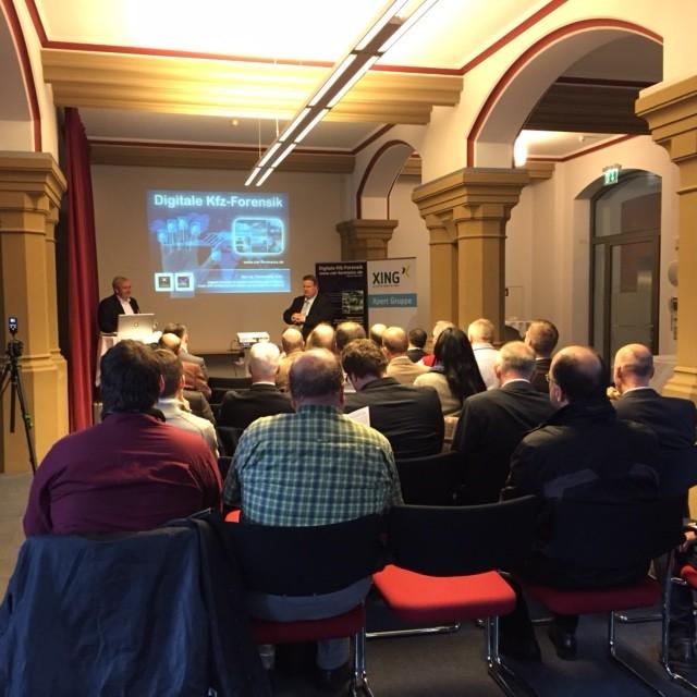 Veranstaltung IT Security Breakfast am 06.11.2015 mit Car-Forensics-Vortrag