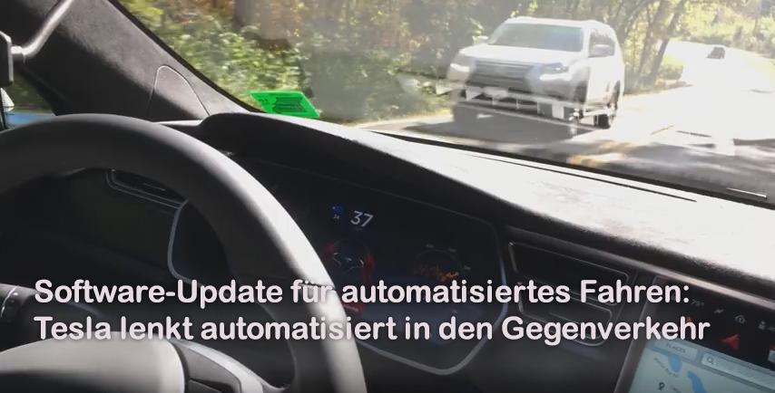 Meinung: Tesla liefert Software-Update für automatisiertes Fahren aus - und hier hört der Spaß sofort schon wieder auf.