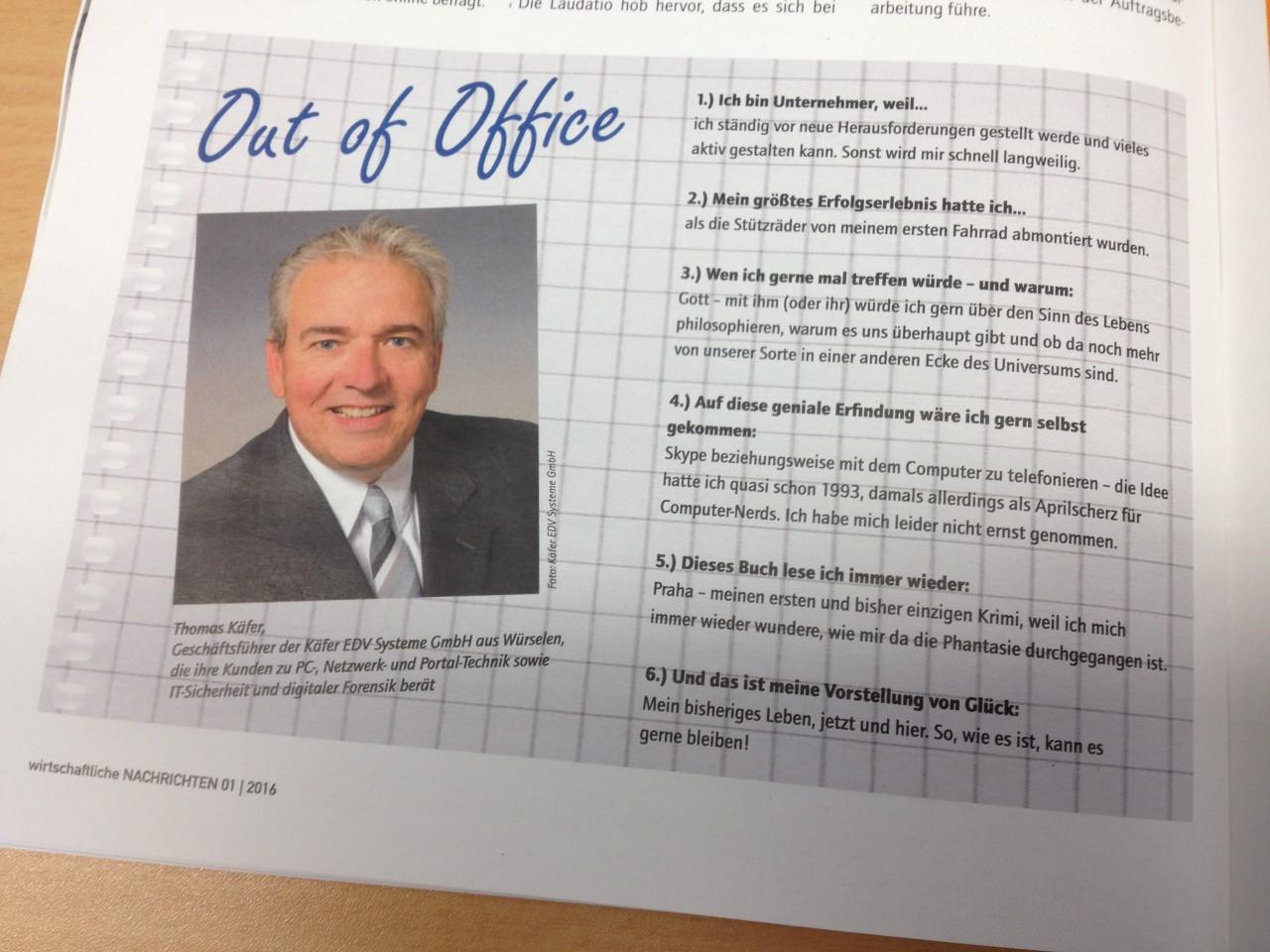 Out of Office - Das neue Jahr startet wie das alte endet