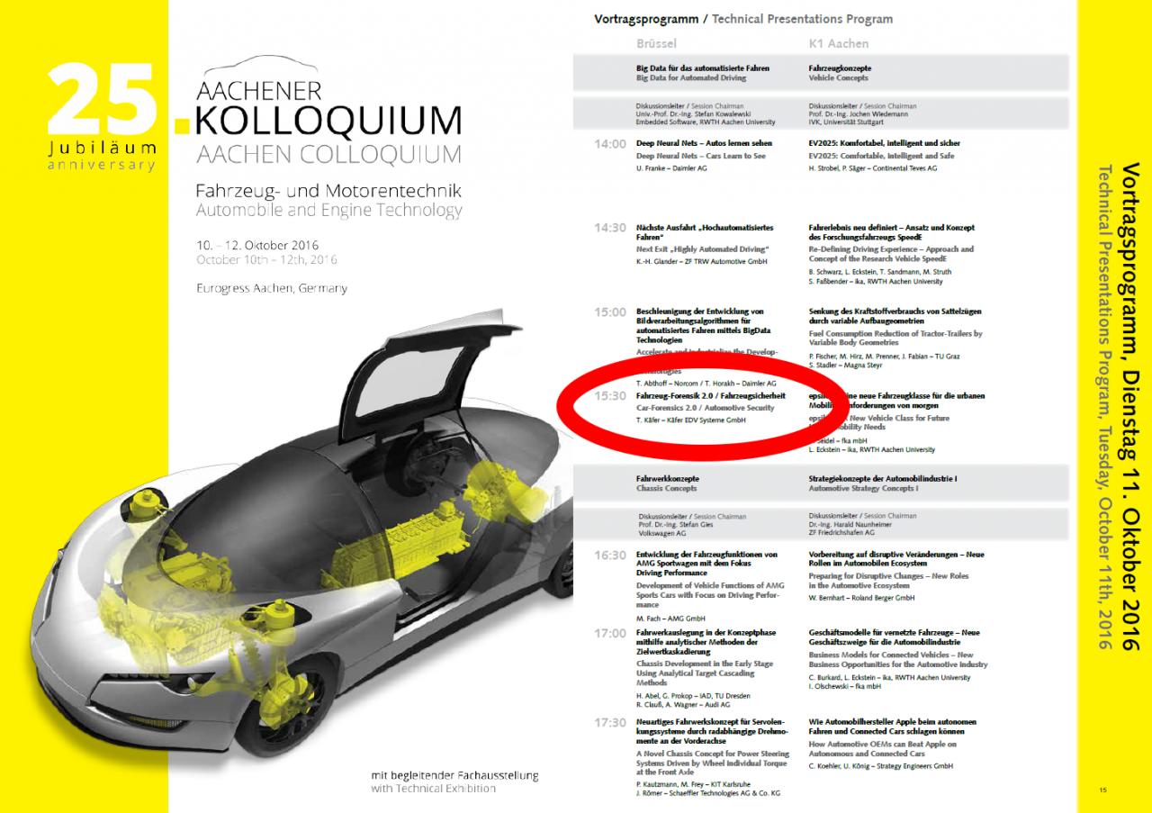 25. Aachener Kolloquium für Fahrzeug- und Motorentechnik der RWTH Aachen