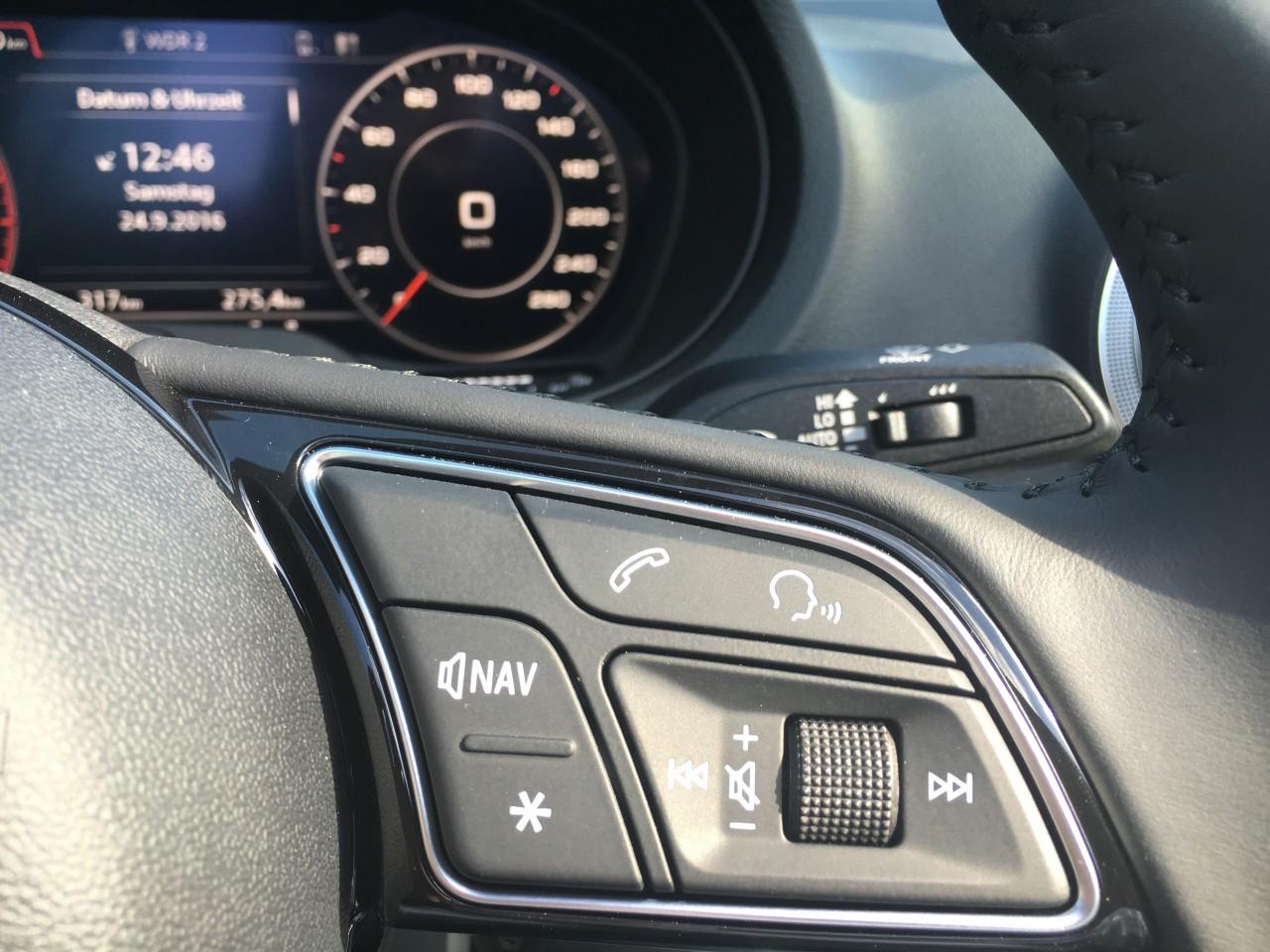 Audi deaktiviert Sprachsteuerung bei Cabrios wegen Fehlfunktionsmöglichkeit durch Nebengeräusche