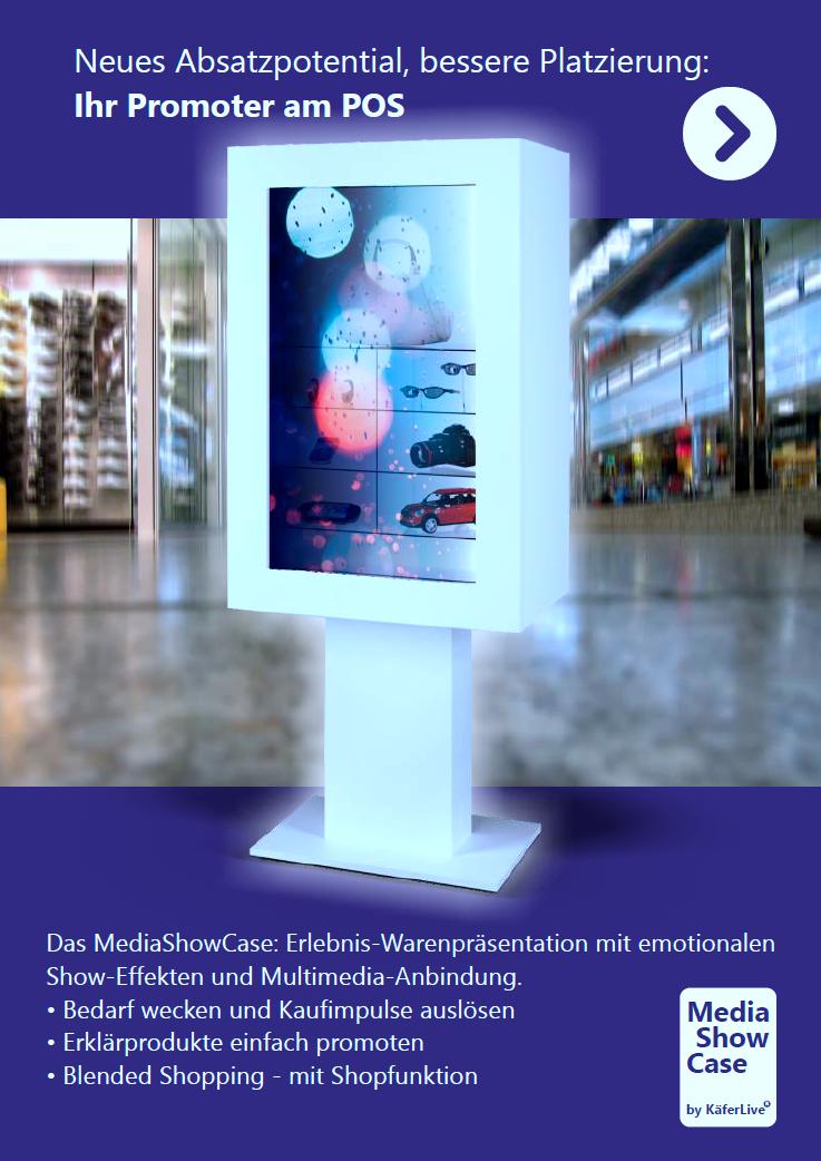 Digital Signage: Wie gelingt der Brückenschlag zwischen Ladenlokal und Online-Shop?