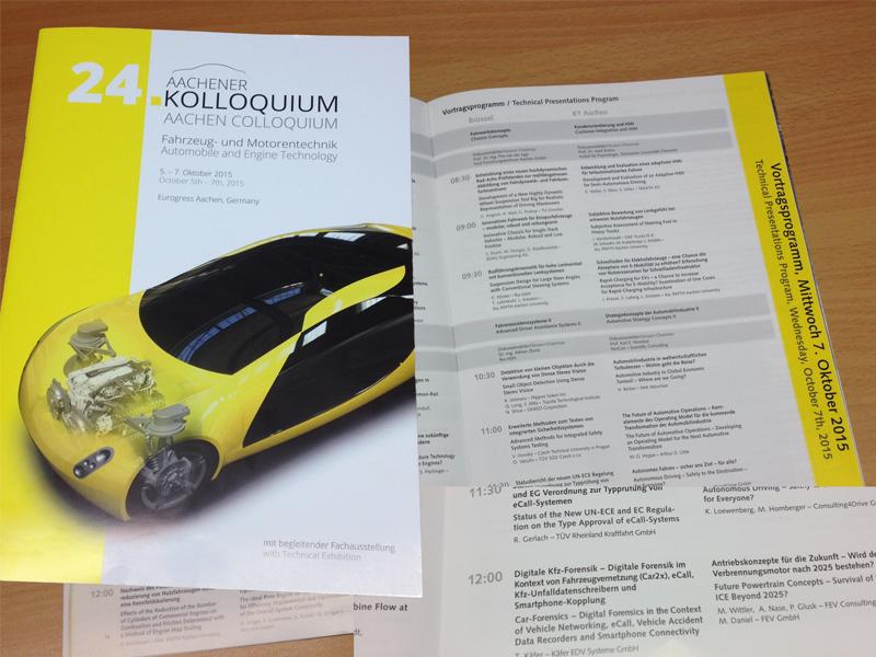 24. Aachener Kolloquium für Fahrzeug- und Motorentechnik