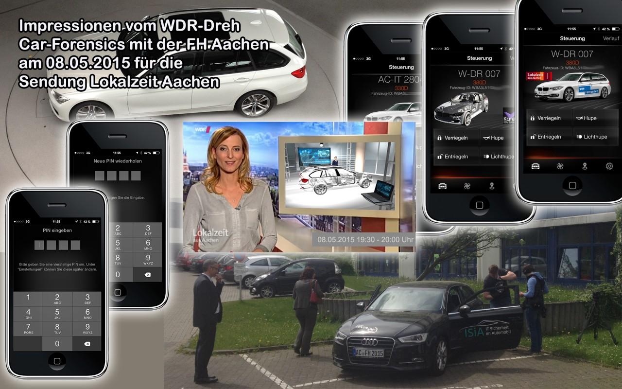Berichterstattung im WDR Fernsehen am 08.05.2015